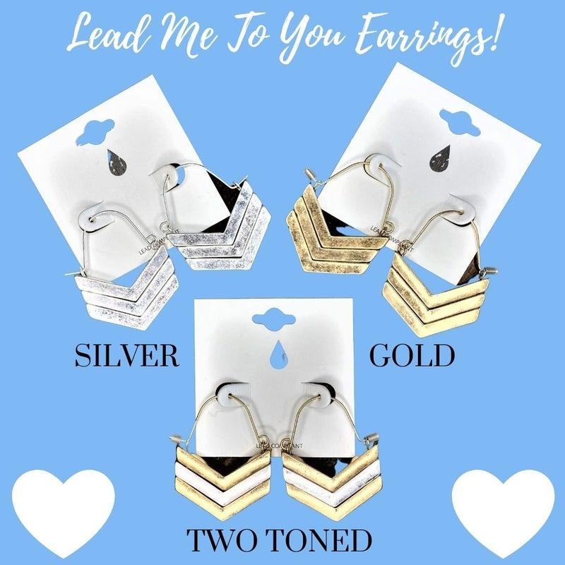 Lead Me To You Earrings