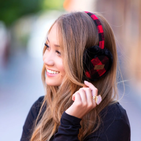 Buffalo Plaid Earmuffs