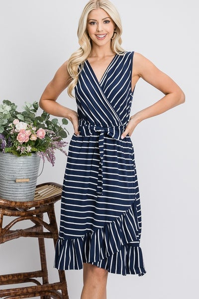Serendipity Hi Low Wrap Dress