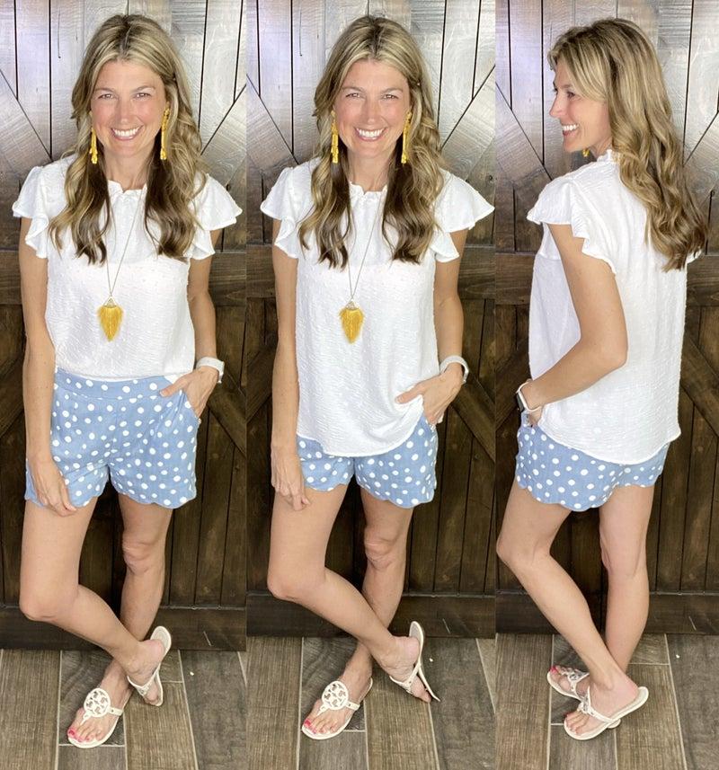 Sunshine & Polka Dots Shorts