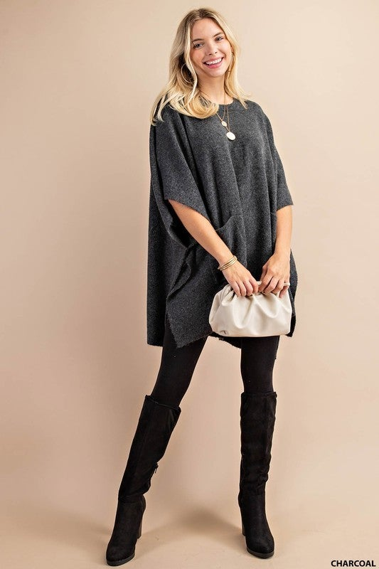 A Walk in Paris Poncho
