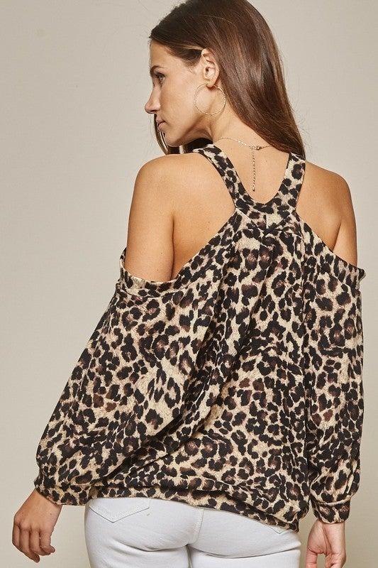 Flirtatious Leopard Top