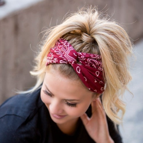 Bandana Twist Headband