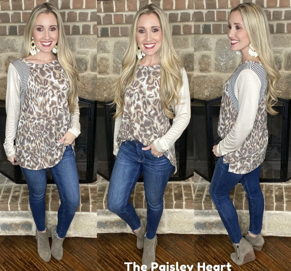 Chic Cheetah Contrasts & Comfort