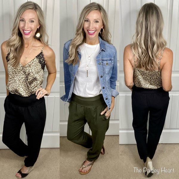 Trendy Chic Pocket Joggers
