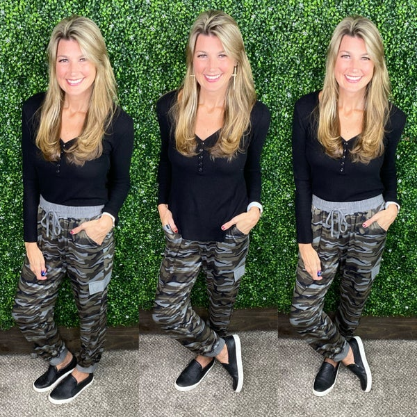 Weekend Camo Joggers - LIMITED!