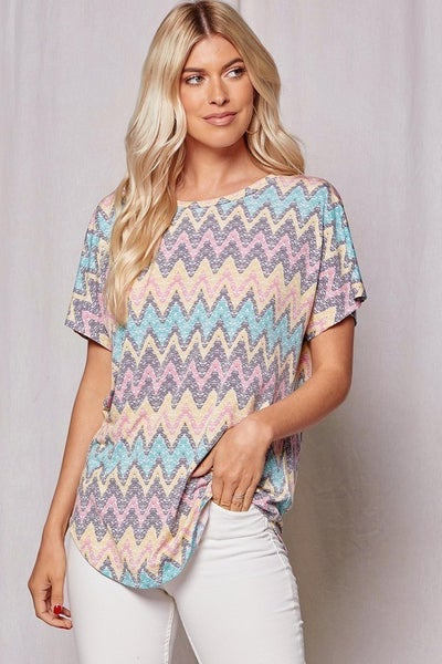 Eve Chevron Top