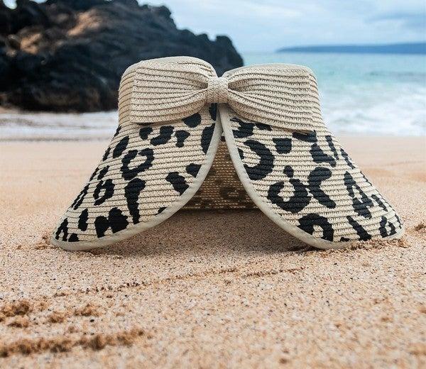 Seeking Sunshine Leopard Hat