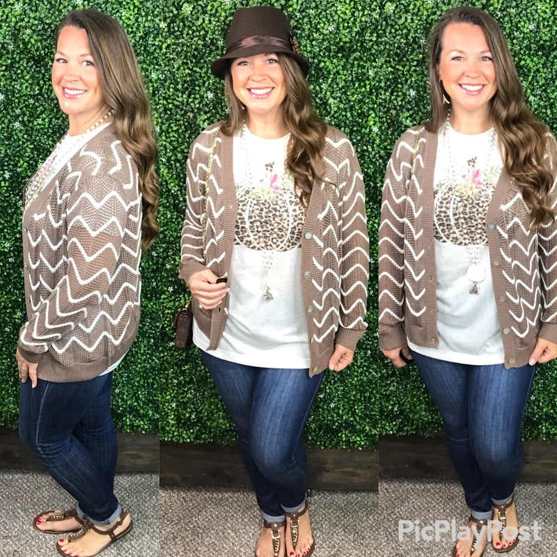 Sweet Surrender Button Up Cardigan