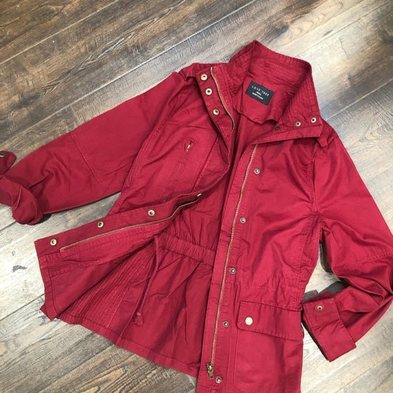 BEST SELLING Anorak Zip Up Utility Jacket