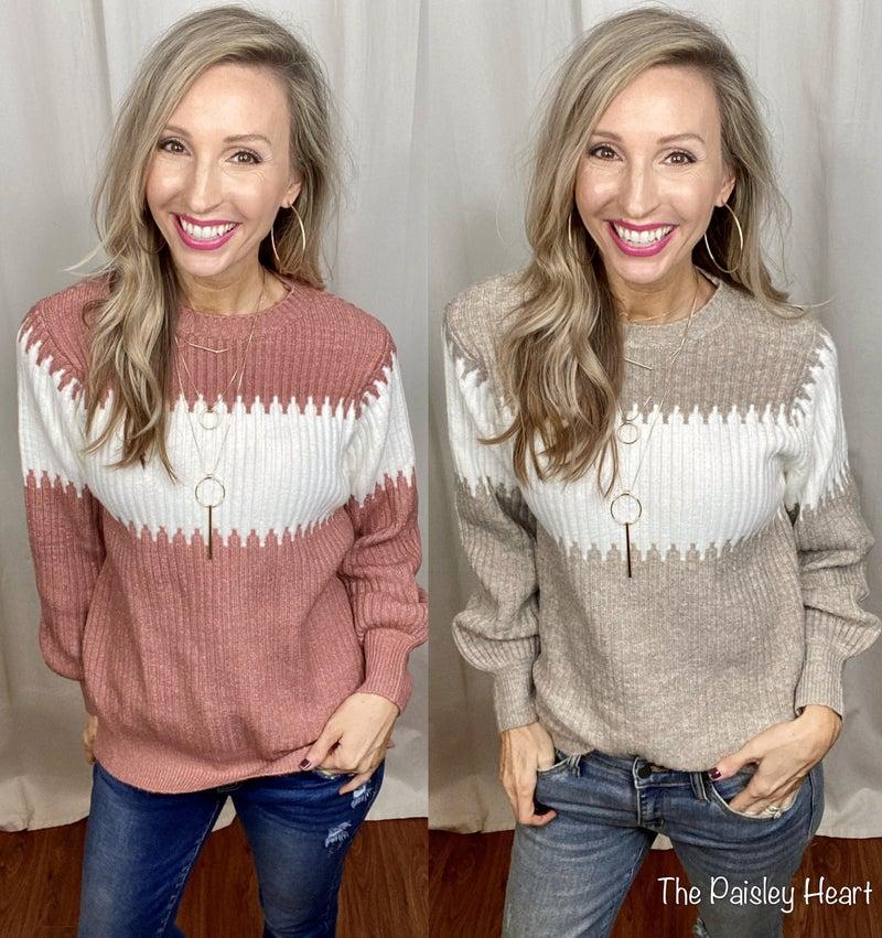 Fire Side Sweater