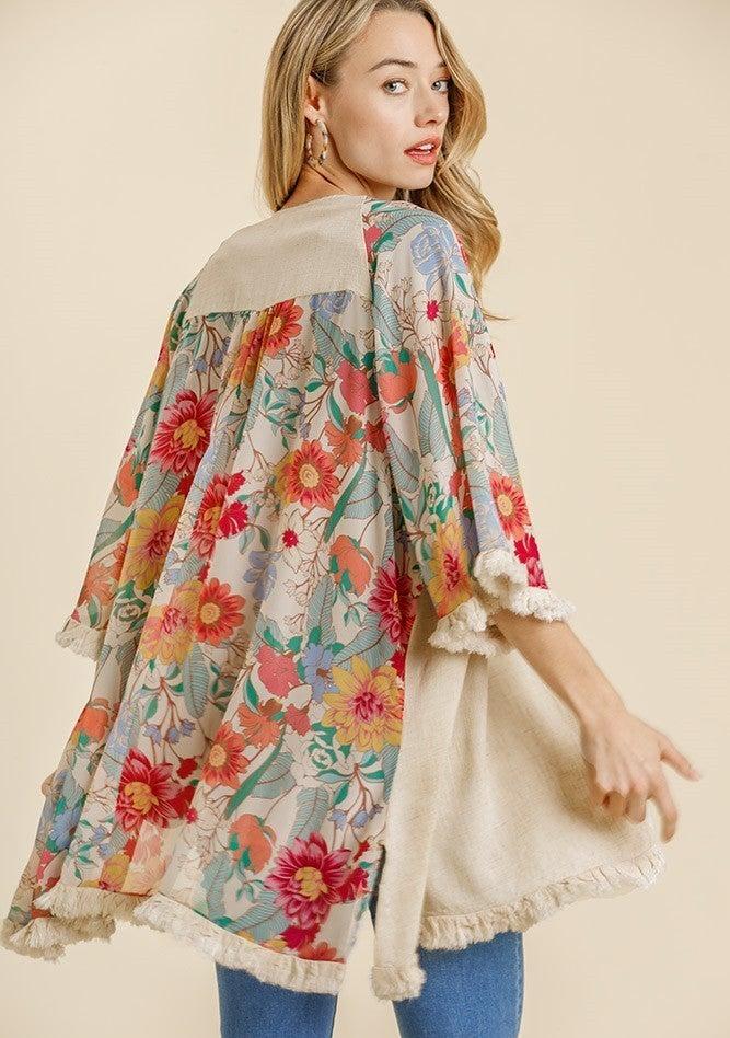 Garden State Floral Kimono