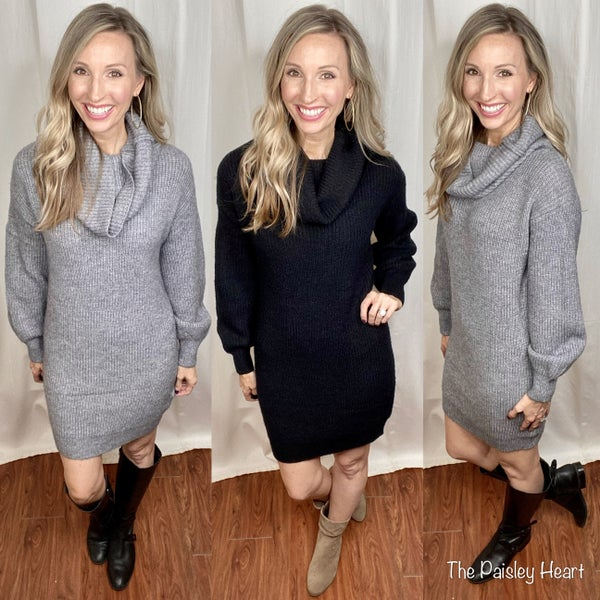 Dreamers Stunning Sweater Dress