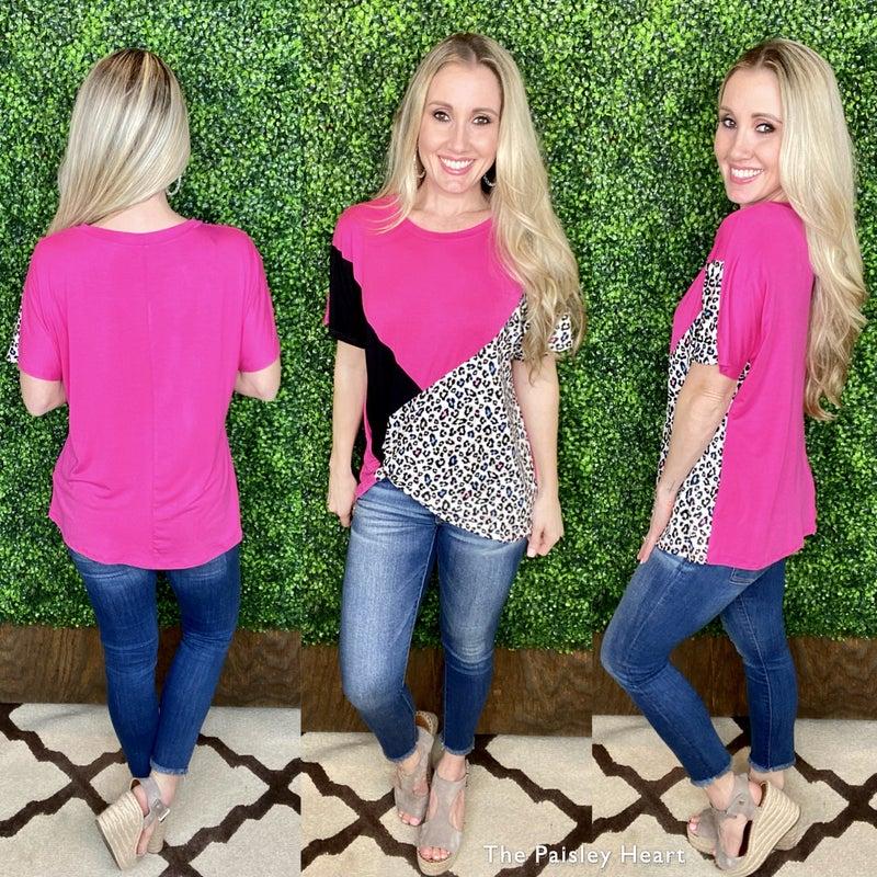 Cheetah Kisses Top