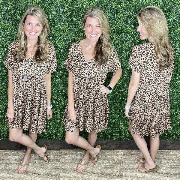 Cheetah Obsessed Dress