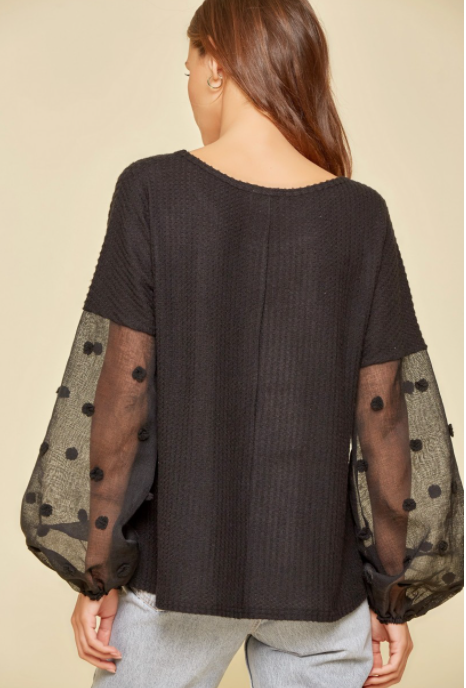 Never Too Chic Top