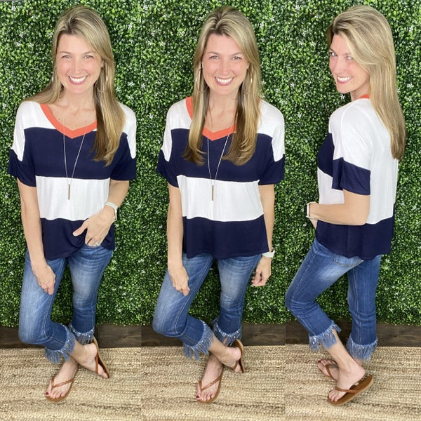 Striped Love Top