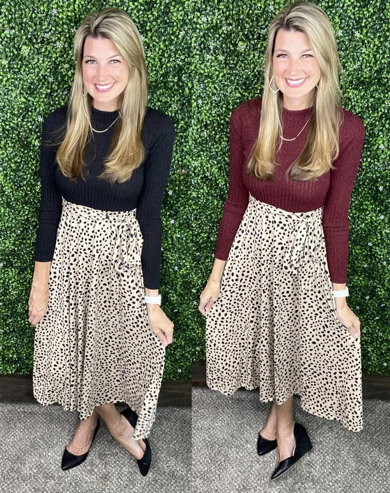 Fitz Leopard Midi Dress
