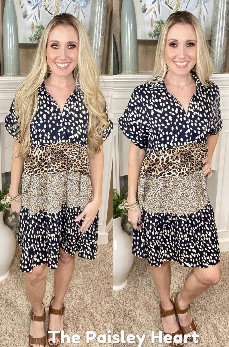 Wildly Wonderful Tiered Dress
