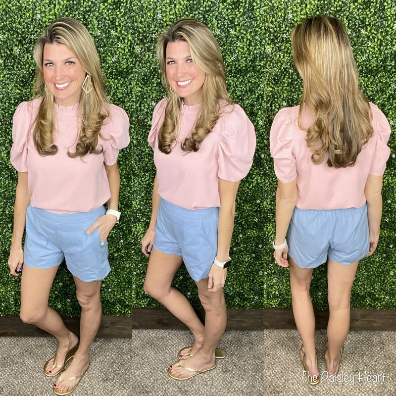 Alani Scallop Shorts