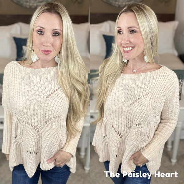 Cozy Corner Chenille Sweater