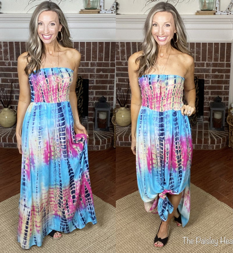 Heavenly Tie Dye Dress