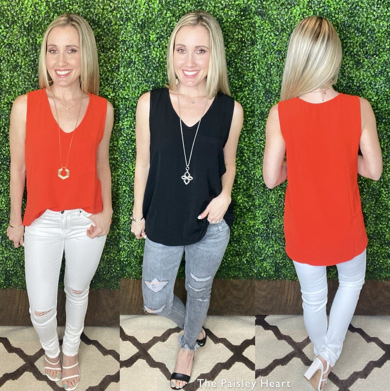 The Sera Solid Top