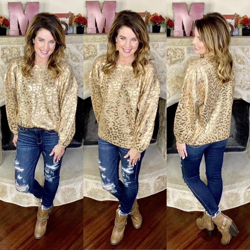 Lawrence Leopard Sweater