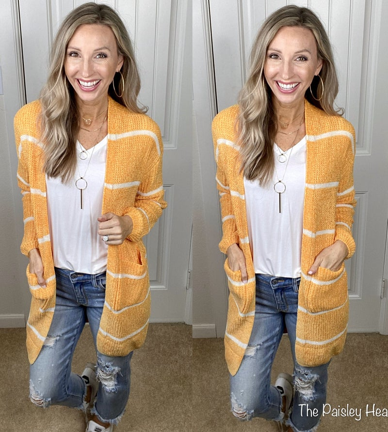 Super Soft Velvet Texture Knit Cardigan