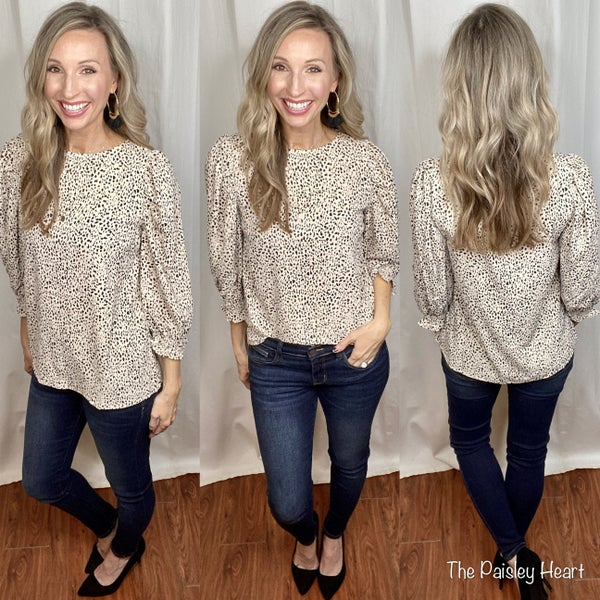 Speckled & Stunning Top
