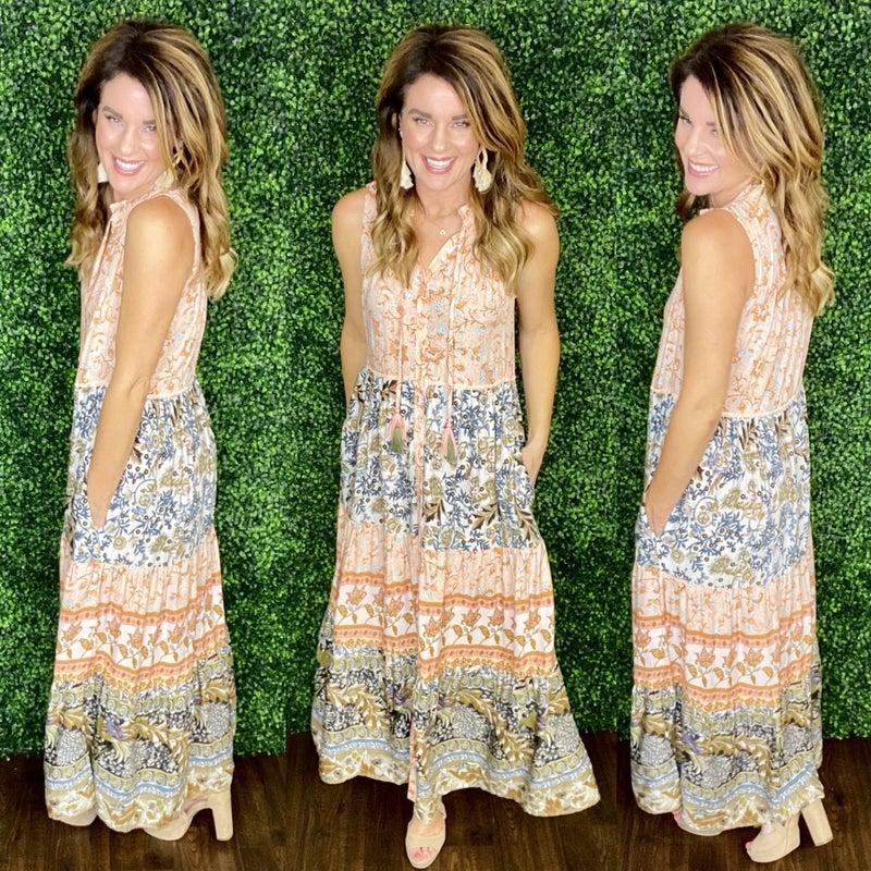 The Morgan Boho Dress