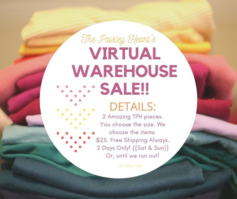 Warehouse Sale Mystery Bags!!