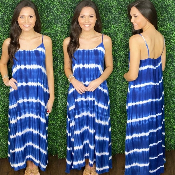 Elyse Ombre Maxi Dress