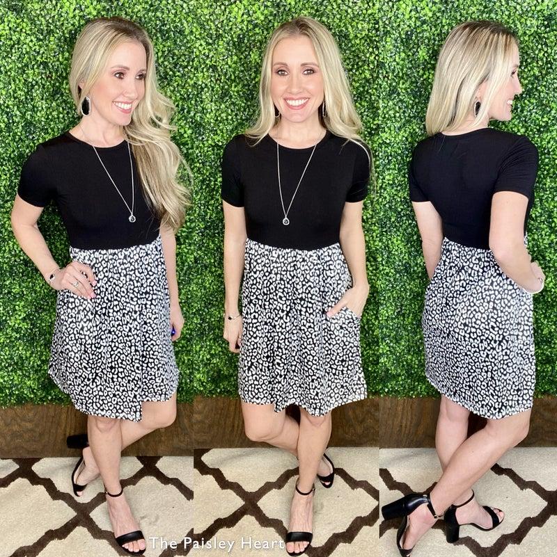 Well Said Leopard Dress