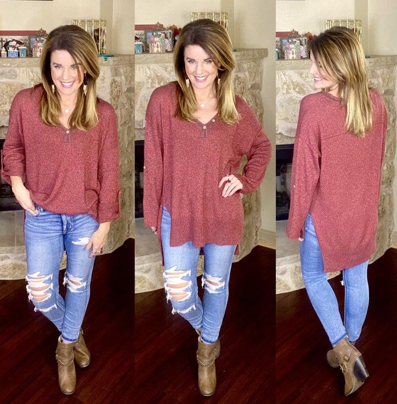 Chic Simplicity Sweater
