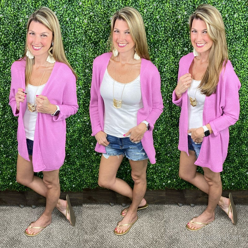 Pretty in Pink Cardigan