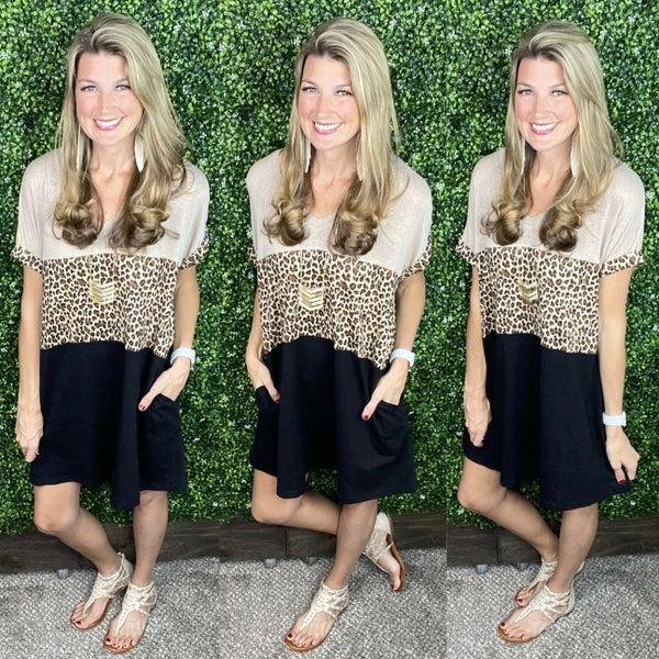 Love Me in Leopard Dress