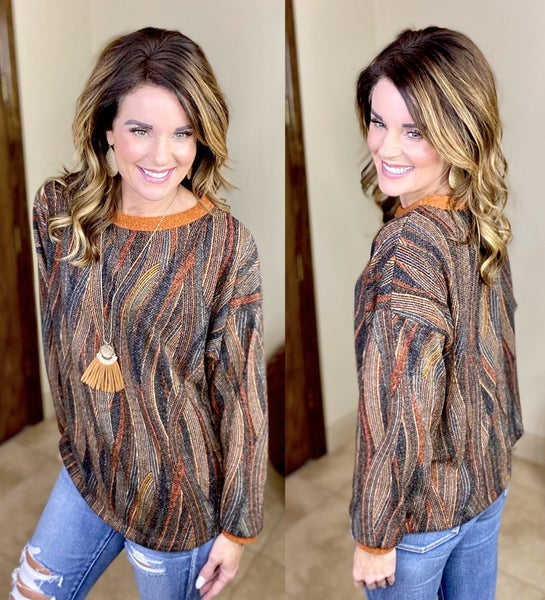 Abstract Fall Tunic