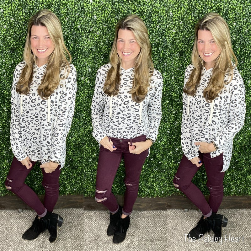 Reece Cheetah Hoodie