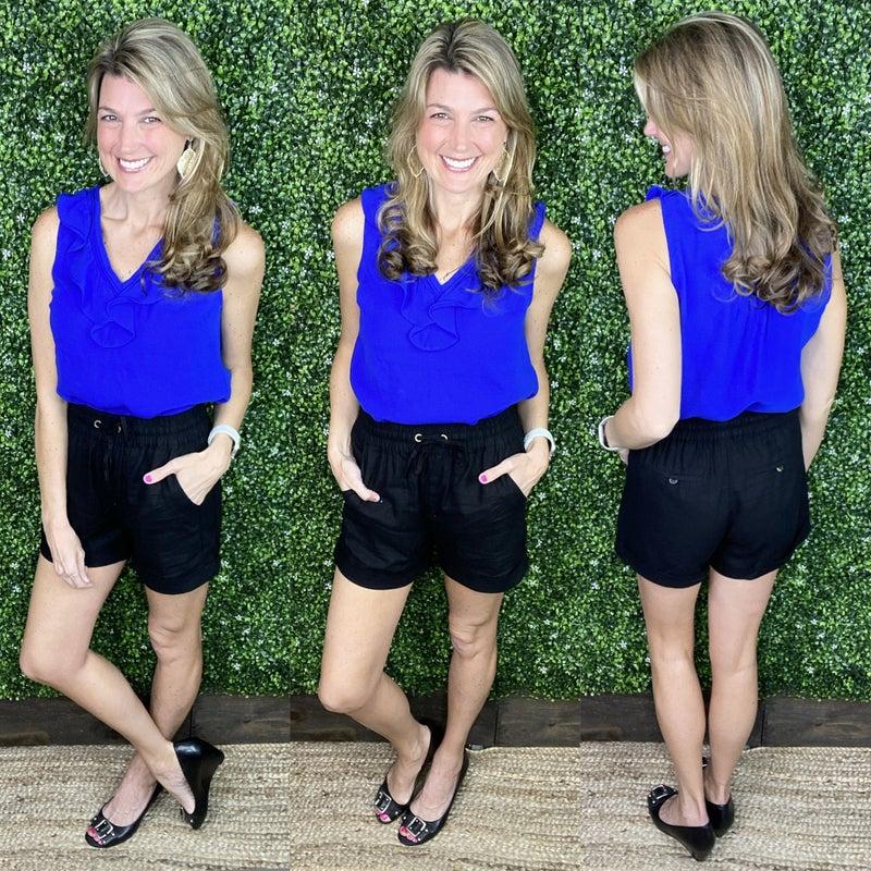 Briella Linen Shorts