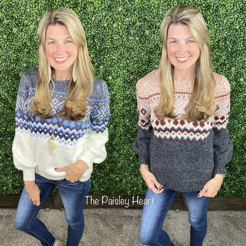 Beautiful Winter Warmth Sweater - LIMITED