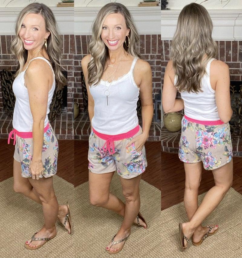 Floral Wonders Shorts