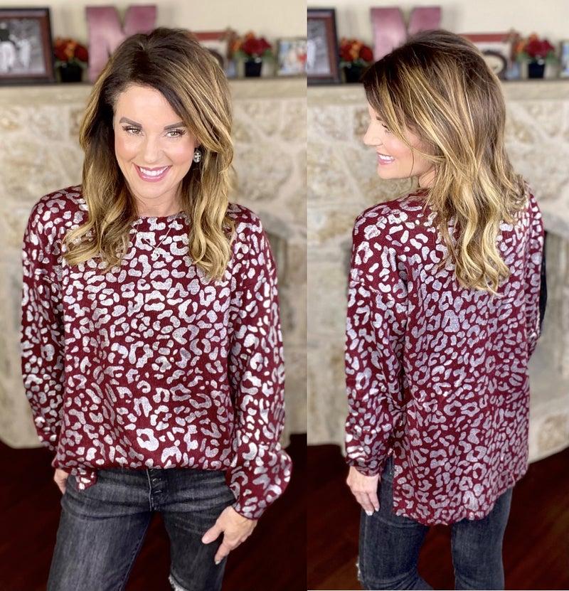Leopard Destiny Sweater