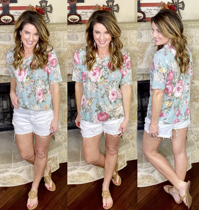 Floral Craze Shirt