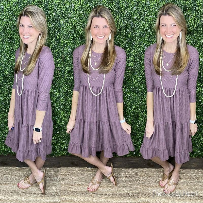 Bella Swiss Dot Dress