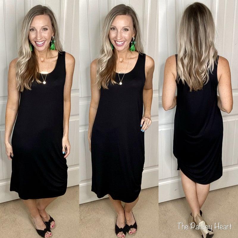 Better in Black Comfy Dress