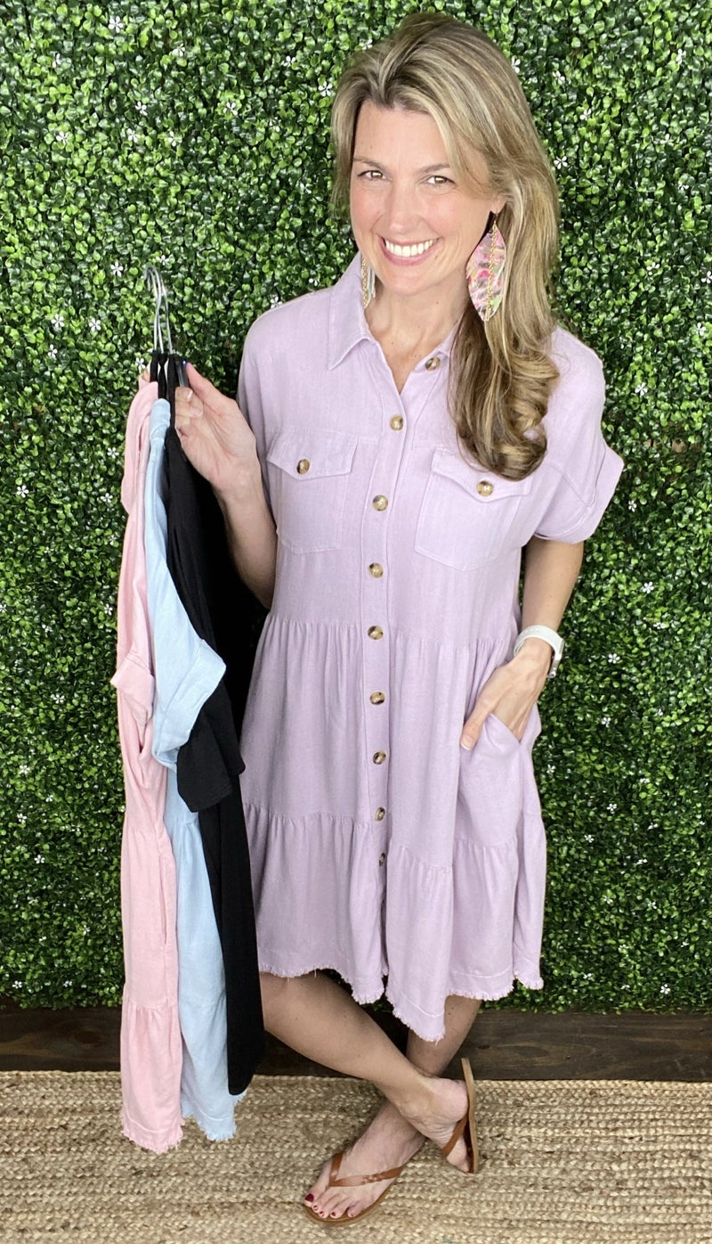 Lucy Button Down Dress
