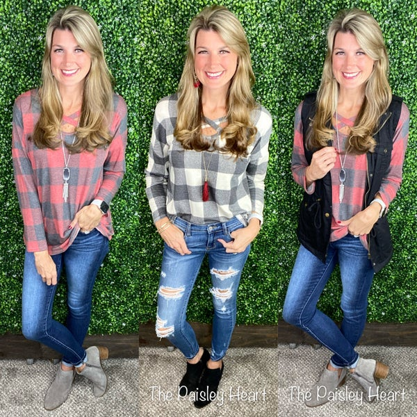 Perfectly Plaid Tunic