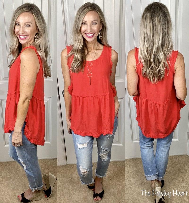 Scoop Hem Summer Linen: 3 Colors!