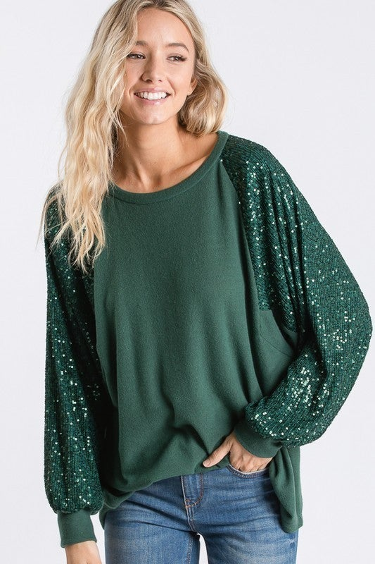 A Little Glam Top